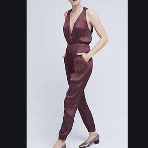 Nomad by Morgan Carter Purple Jumpsuit Size XS